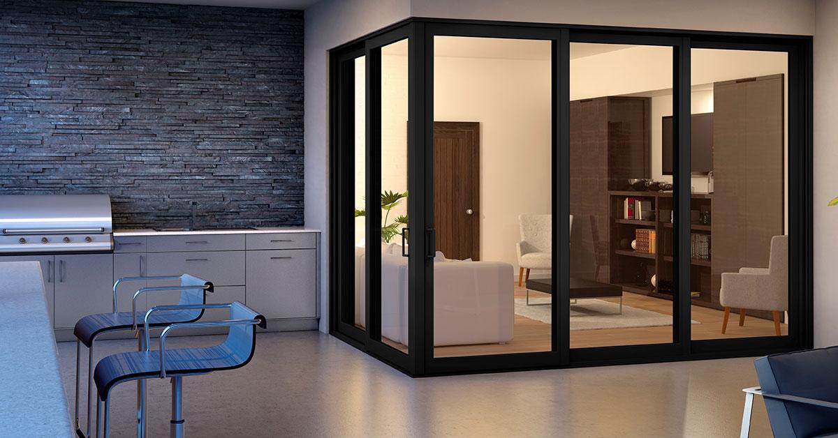 Black Window Frame - Black Window Frames